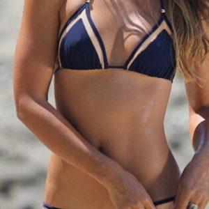 Strappy Push Up Mesh Bikini BU